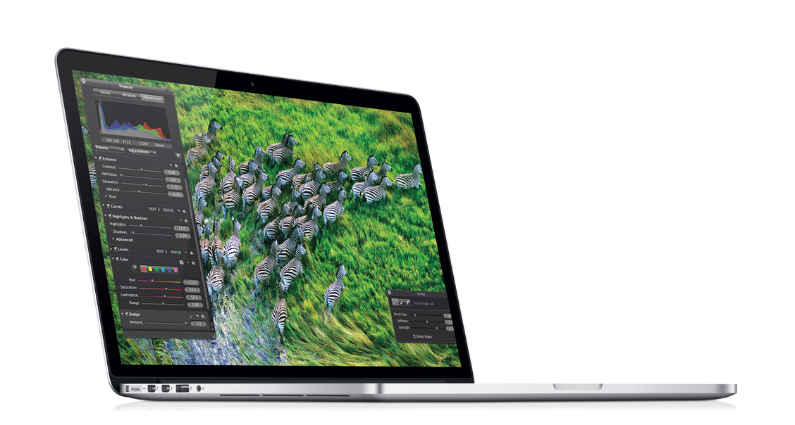 Neues MacBook Pro mit Retina Display