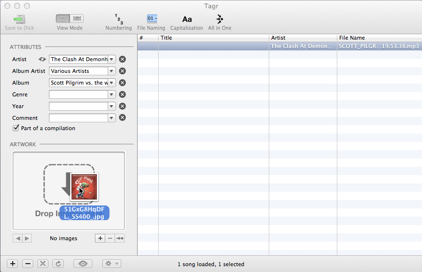 MP3s taggen auf dem Mac: Tagr