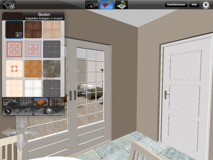 App-Test: Home Design 3D Gold fürs iPad