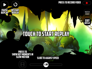 Badland Replay Funktion