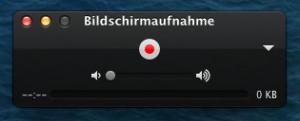 Bildschirm aufnehmen am Mac mit Ton 2