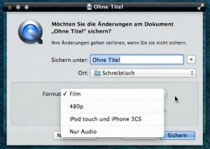 Bildschirm aufnehmen am Mac mit Ton 6
