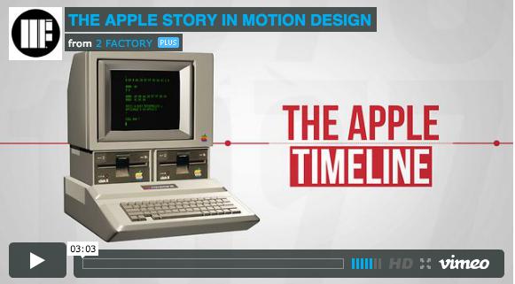 Video über die Firmengeschichte von Apple