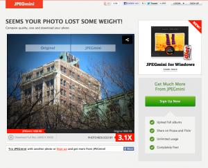 Bilder verkleinern JPEGmini Bildvergleich