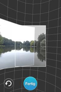 360 Panorama verlangt ein ruhiges Händchen