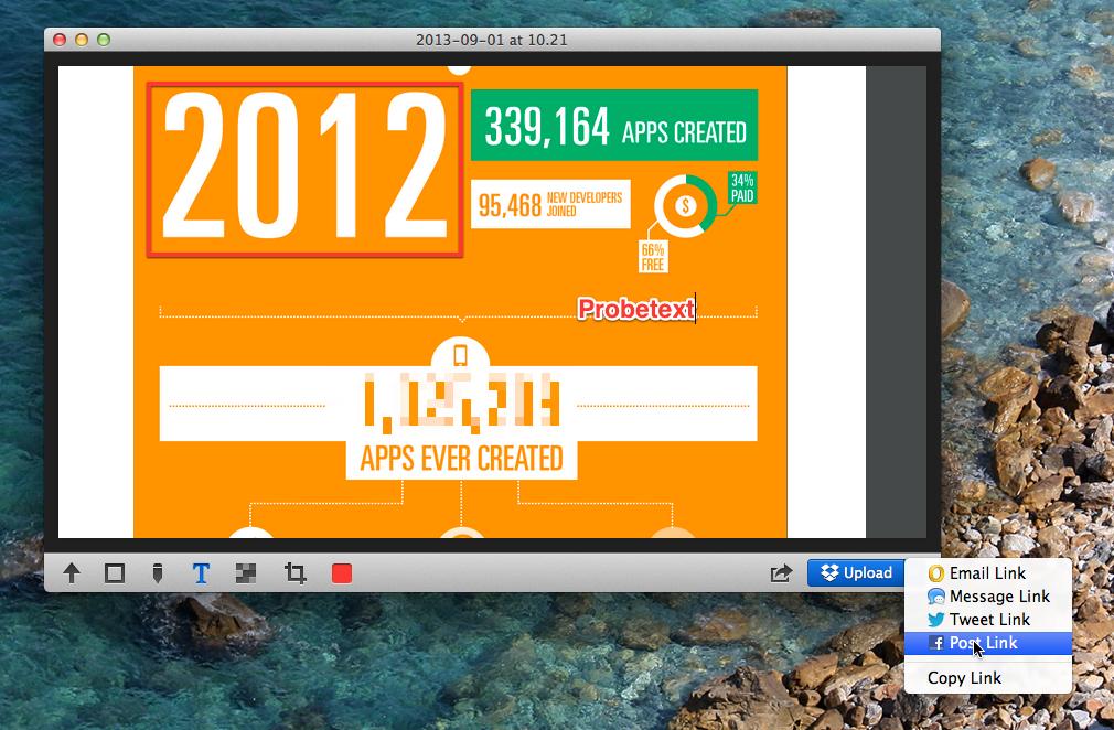 Glui: Mac Screenshots Tool mit Sofortbearbeitung