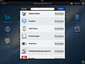 Parallels Access App hinzufügen