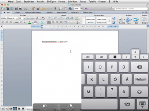 Parallels Access Word