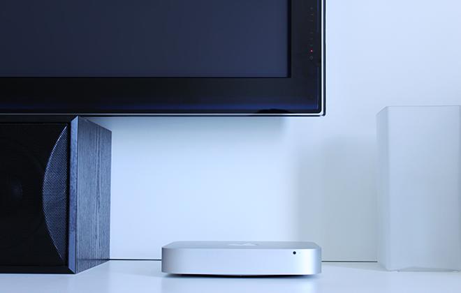 Mac mini als HTPC im Wohnzimmer