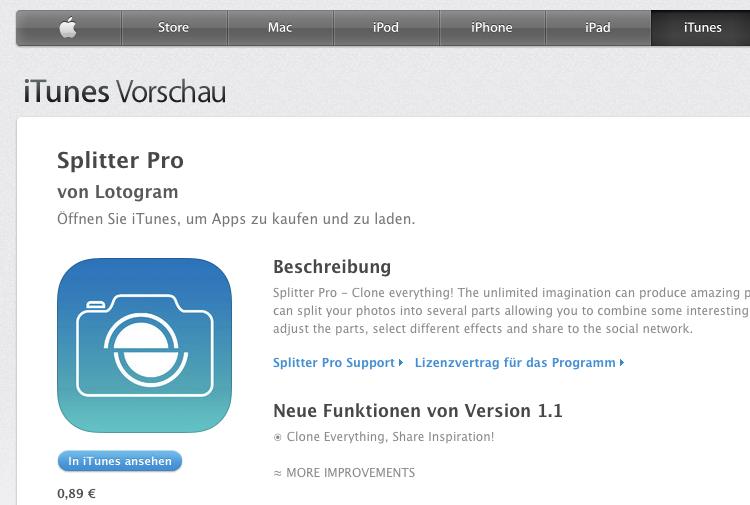 App-Test: Splitter Pro für iPhone und iPad