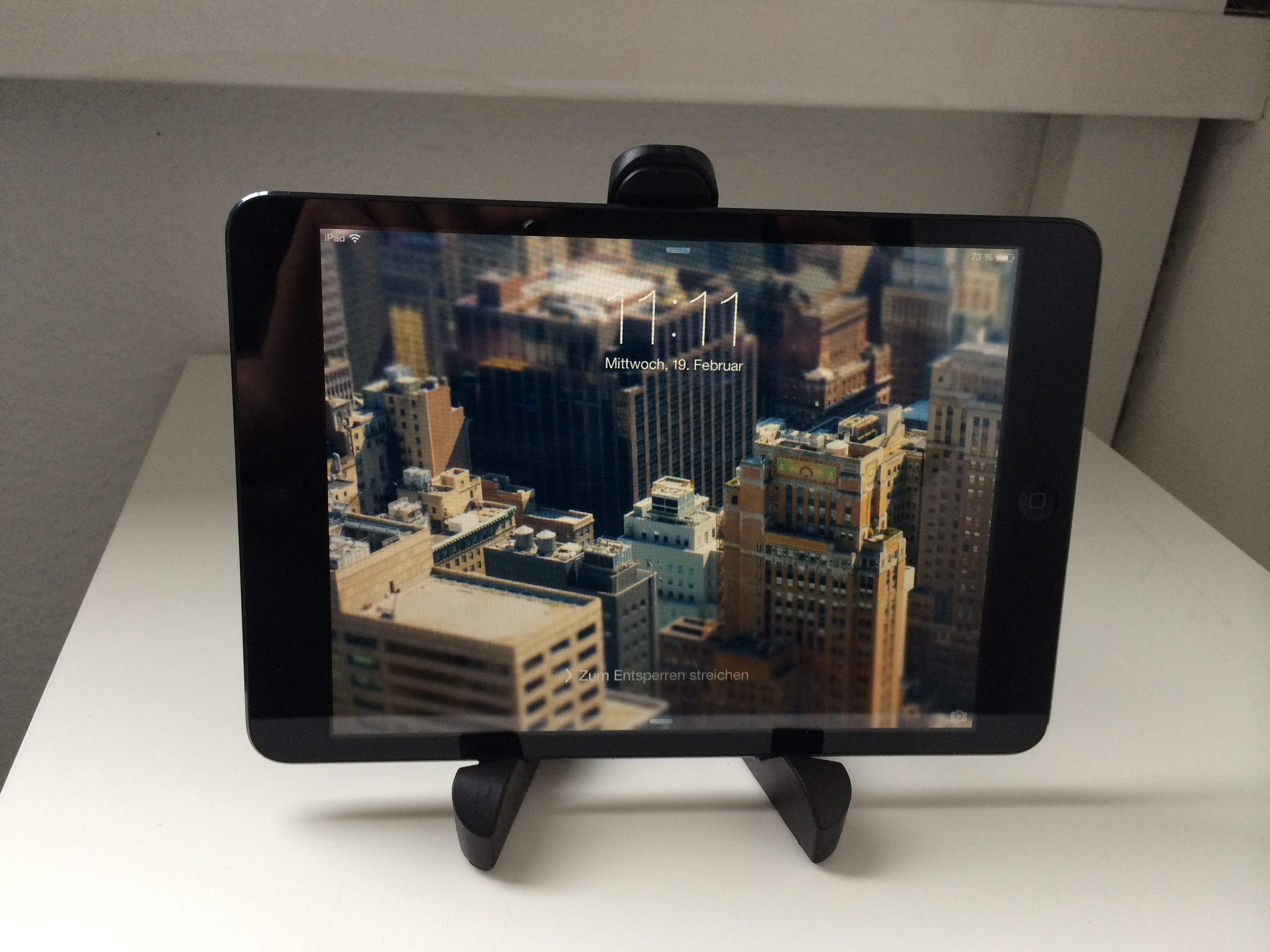 Gadget-Test: Callstel iPad Ständer – Eine Alternative zu Compass & Co.?