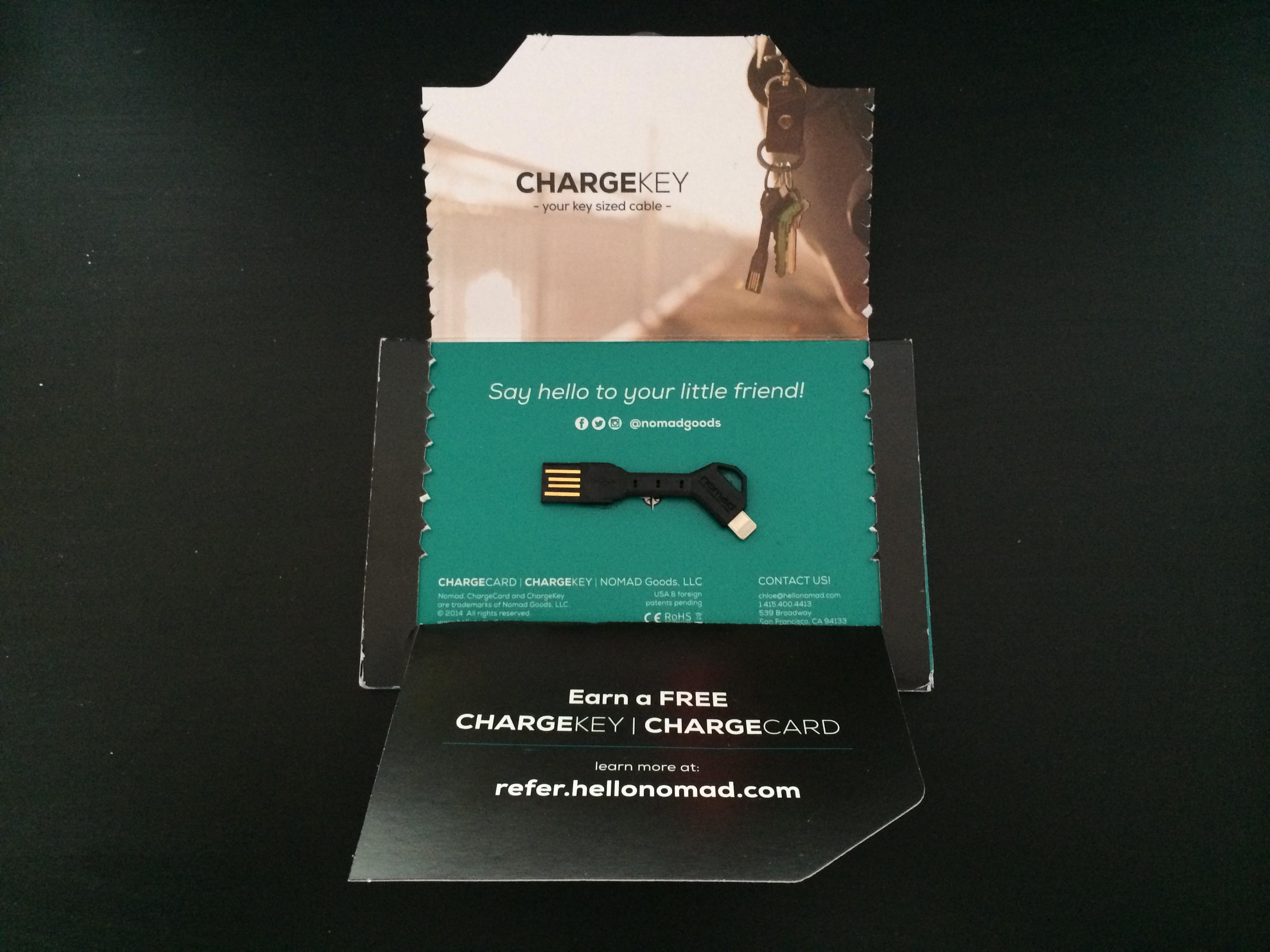 Nomad Chargekey – Das Lightning Kabel am Schlüsselbund