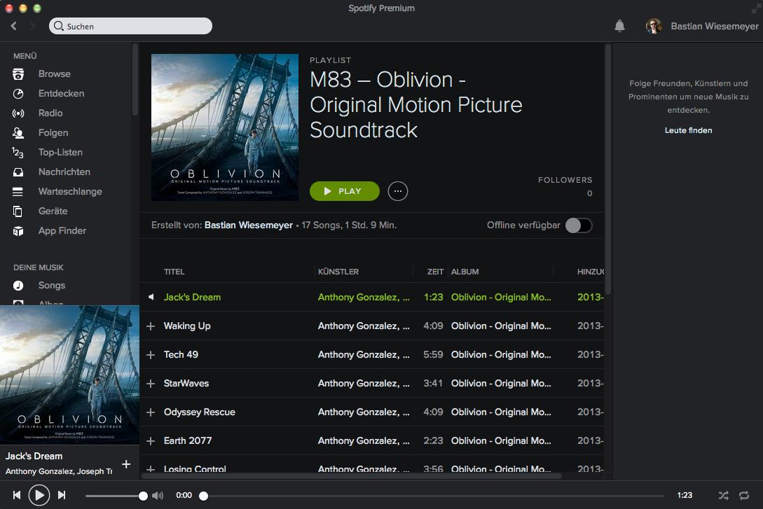 Spotify aufnehmen am Mac: Audacity und Allmymusic im Test