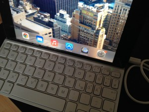 Logitech Ultrathin Keyboard mini Layout